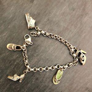 Judith Jack Shoe Marquisate Charm Bracelet